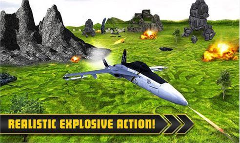 Fighter Jet Tanks Strike War 5