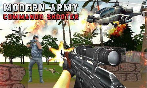 Modern Army Commando Shooter:2 1