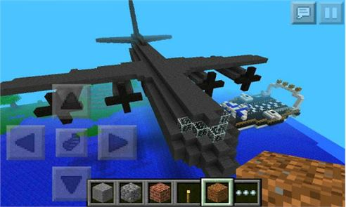 Airplane Ideas MCPE Mod 3