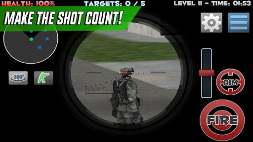 Sniper Shooter Assassin Siege 3