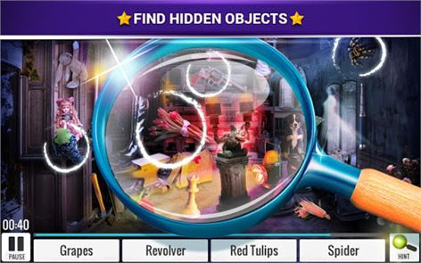 Hidden Objects Haunted House 4