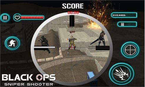 Black Ops Sniper Shooter 3D 2