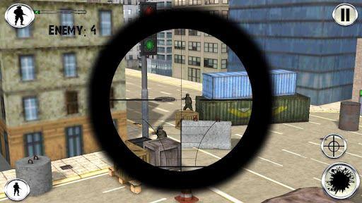 Army Sniper Duty Street War 5