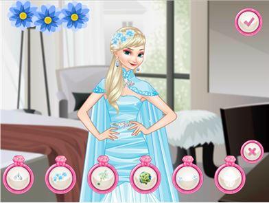 Elsa Bride Dress up 3