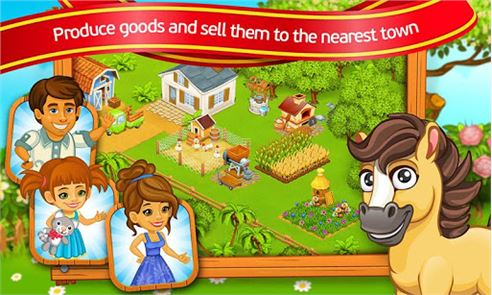 Farm Town: Cartoon Story 4