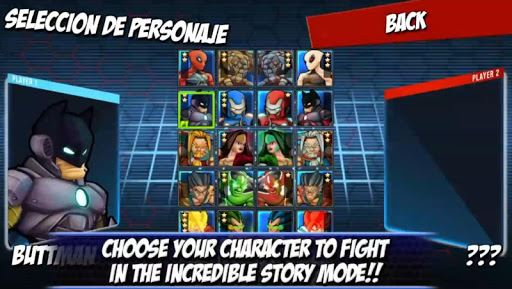 Superheros Free Fighting Games 5