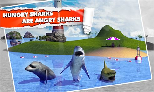 Angry Shark Simulator 3D 3