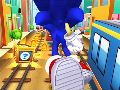Subway Sonic Surf Run 4