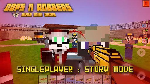 Cops N Robbers – FPS Mini Game 4