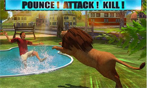 Angry Lion Attack 3D 4