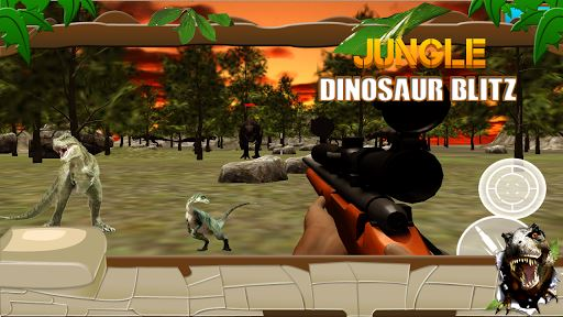 Jungle Dinosaur Blitz 4