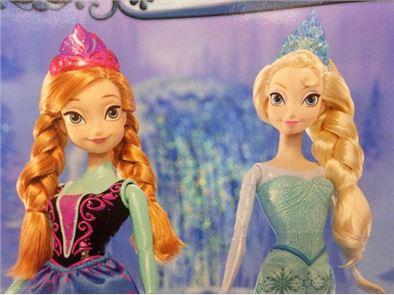 Anna Elsa Puzzle 1