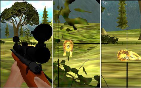 Lion Hunting Challenge 3D 2