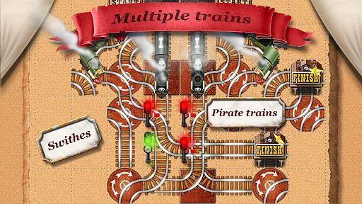 Rail Maze 2 : Train puzzler 4
