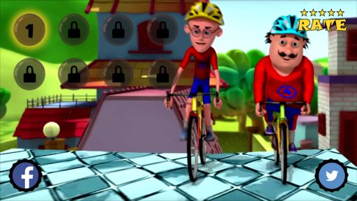 Motu Patlu Bike Cycling 3