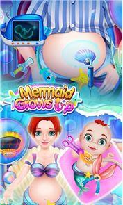 Mermaid Grows Up 1