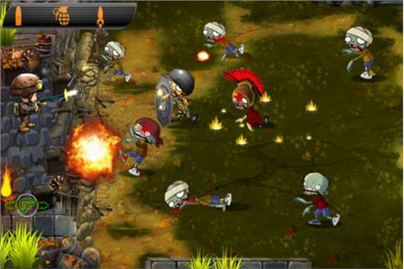 Zombies vs Soldier HD 4