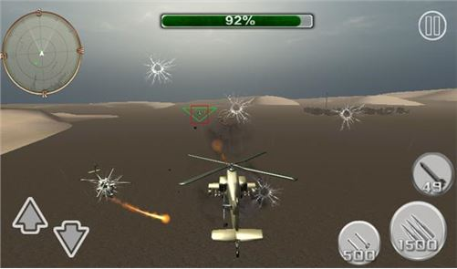 Stealth Helicopter Fighter War 1