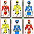 Hero Rangers Memory Game apk