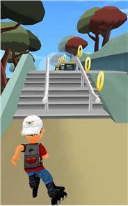 InLine Skate Rollerblade Run 1
