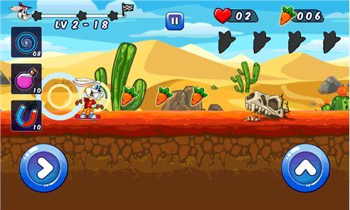 Looney Bunny Skater Dash 1