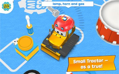 Bulldozer driving game for kid 1