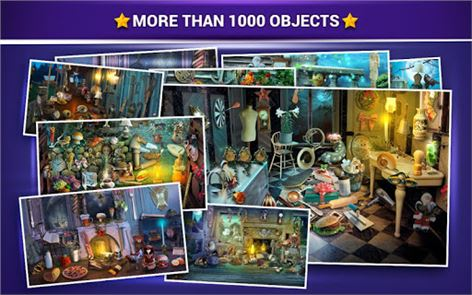 Hidden Objects Haunted House 5
