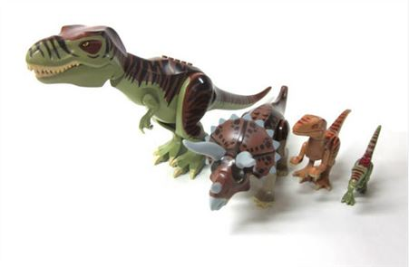 Toy Puzzle Jurassic Dinosaur 4