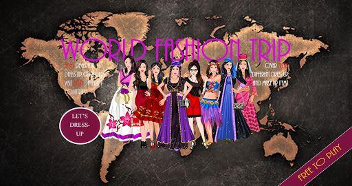 WORLD FASHION TRIP – GIRL GAME 5
