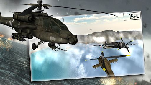 Helicopters vs Warplanes 5