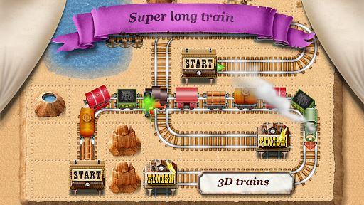 Rail Maze 2 : Train puzzler 5