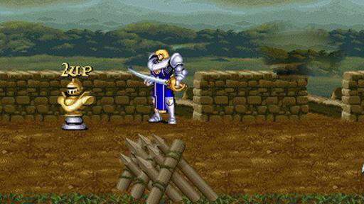 Arcade:Fighting knight 1