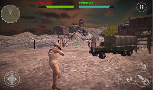 Commando Survivor Killer 3D 2
