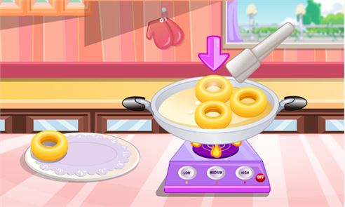 Donuts cooking games 5