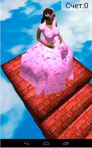Cinderella 3D. Road to Castle. 1