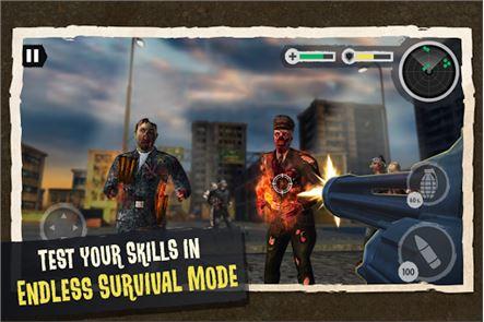 Zombie Combat: Trigger Call 3D 5