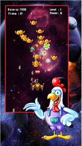 Space Attack: Chicken Shooter 3
