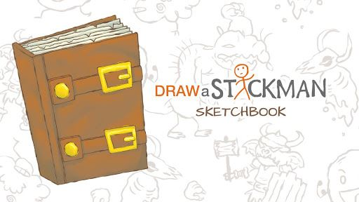 Draw a Stickman: Sketchbook 6
