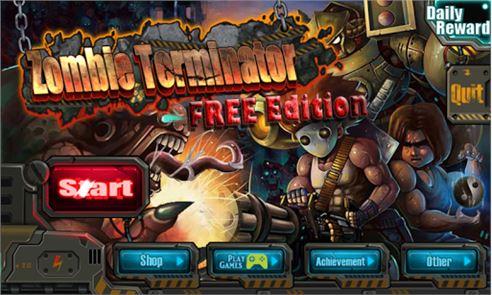 Zombie Terminator FREE Edition 1