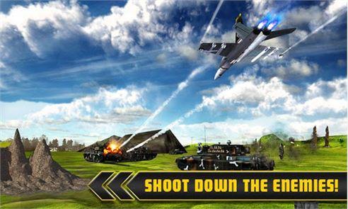 Fighter Jet Tanks Strike War 1