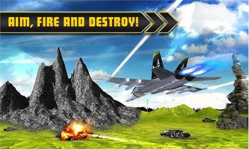 Fighter Jet Tanks Strike War 4