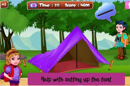 Arietta's crazy team camping 2