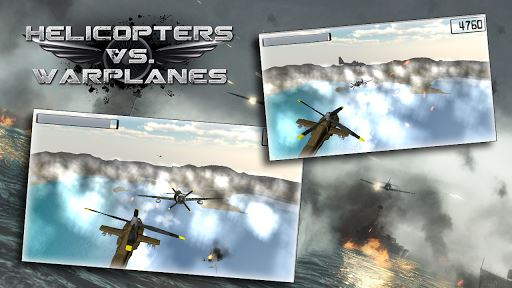 Helicopters vs Warplanes 2