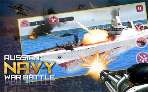 Navy War Battle Gunner 6