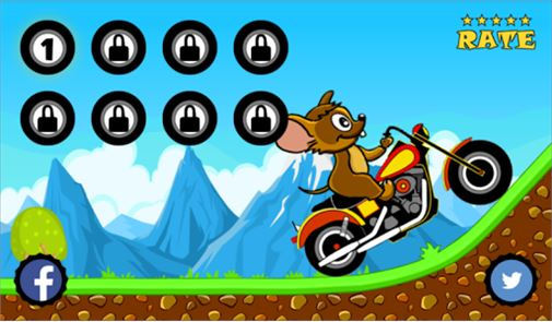 Tom Motorcycle Hill Climb 6