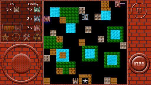 Super Tank Battle – 500 map 4