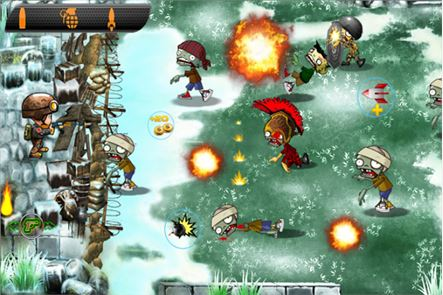 Zombies vs Soldier HD 5