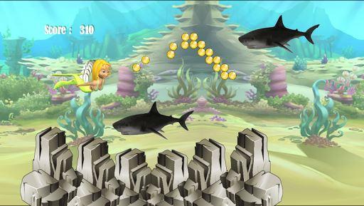 Shark Attack Mermaid 2