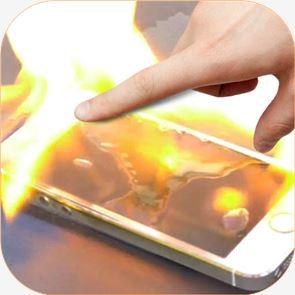 Fire Screen Prank 1