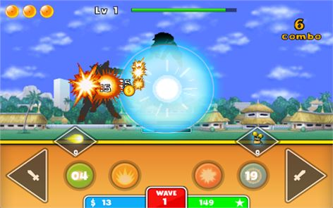 Goku Saiyan Warrior 3